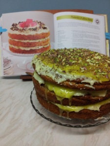 Pistacchio and Lime Cake